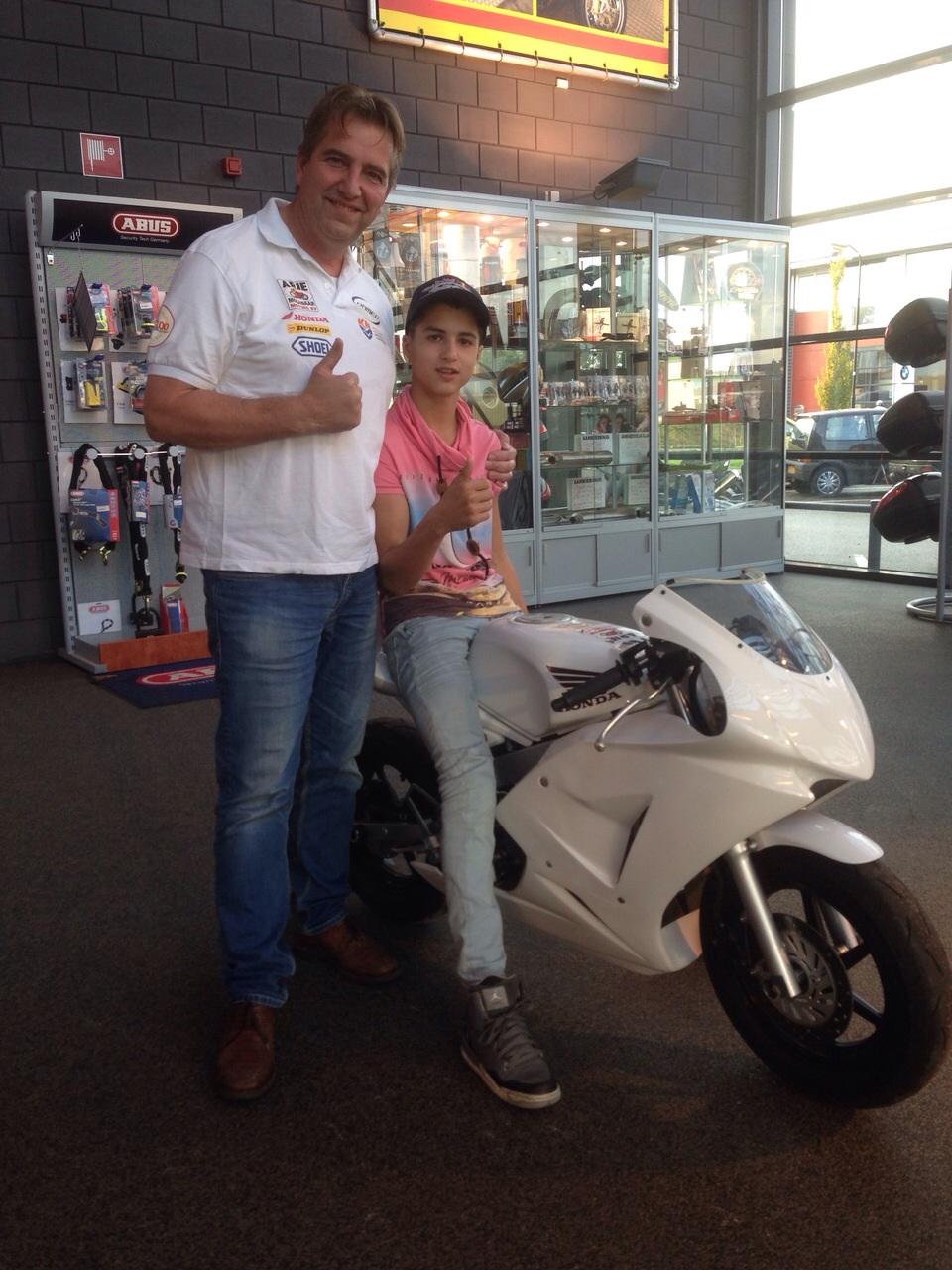 Walid Soppe en Arie Molenar